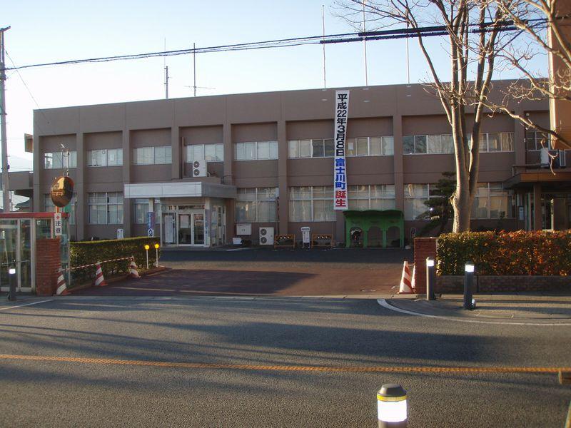 富士川町役場塗替え工事